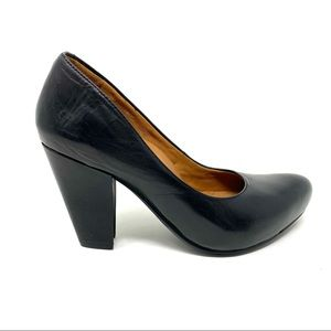 Earthies Talera - Pump black premium calf leather